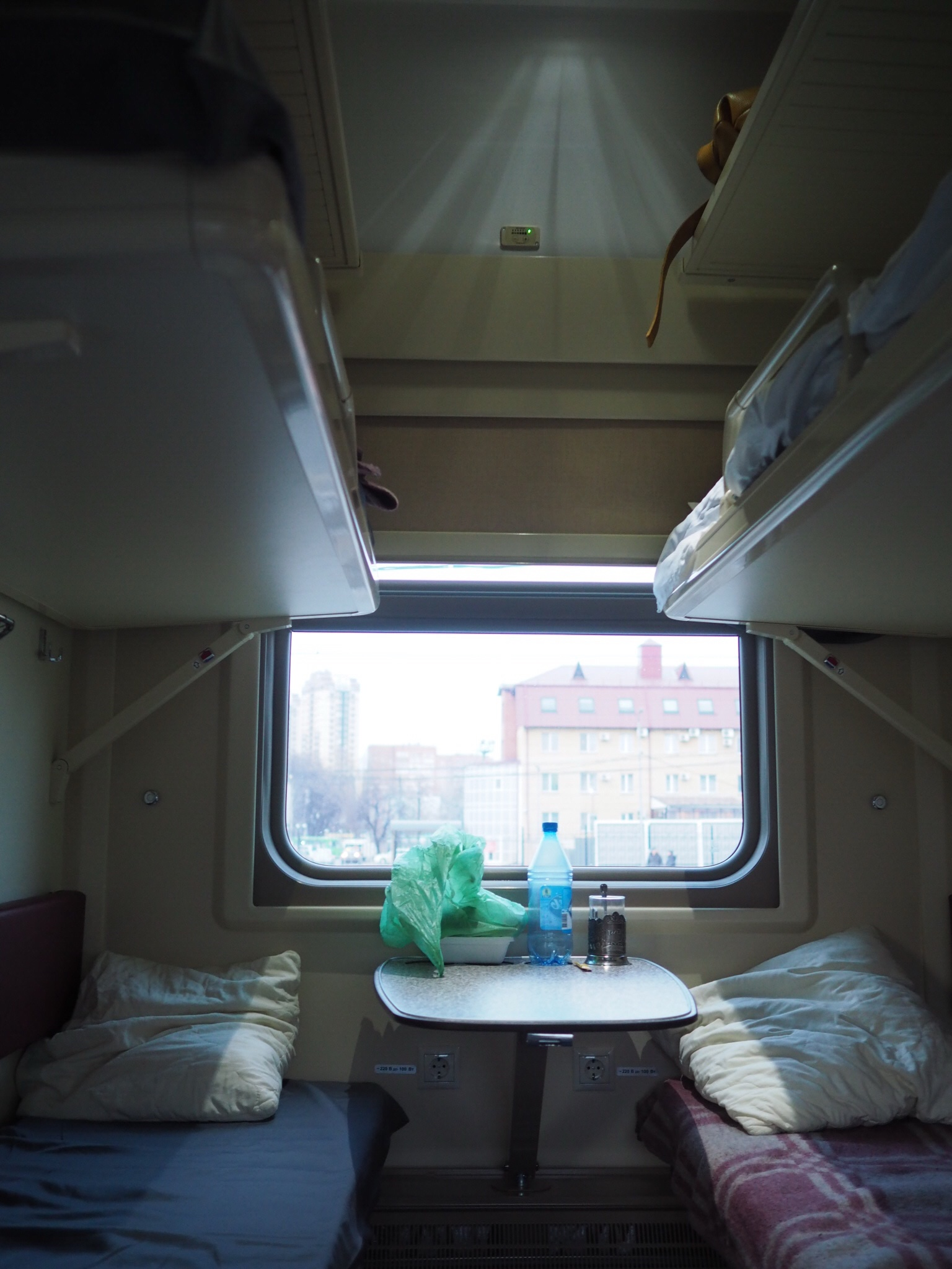 衝撃!シベリア鉄道は2等車よりも3等車の方が快適だった - ミズイロノタビ